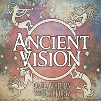 "Album cover reads ""Ancient Vision"""